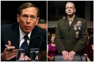 CIA Director David Petraeus and Gen. John Allen combination photo